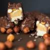 Domowy snickers paleo, bez glutenu bez cukru